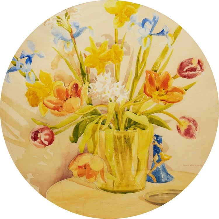 Artwork by Doris Jean McCarthy,  Floral Still Life