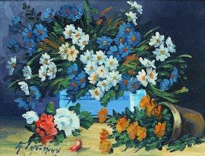 Artwork by Armand Tatossian, Arrangement of Flowers