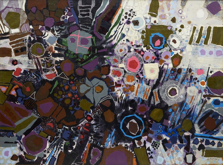 Artwork by Donald Mackay Houstoun,  Abstract