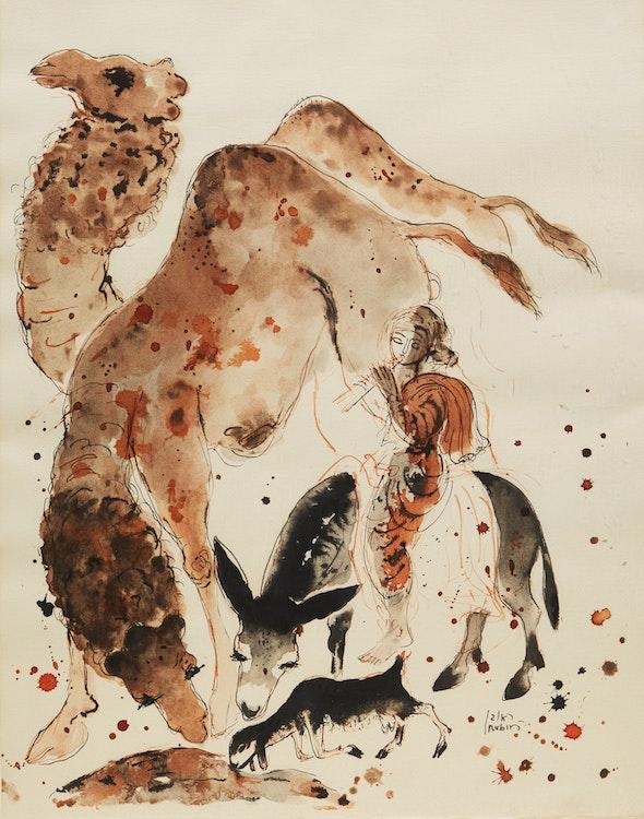 Artwork by Reuven Rubin,  Untitled