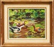 Thumbnail of Artwork by Elizabeth Annie McGillivray Knowles,  Ducks and Ducklings