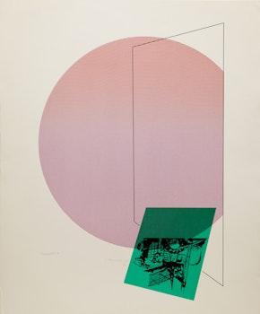Artwork by Carl Heywood, Disparates - E