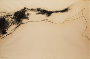 Artwork by Robert Markle, Marlene 1X, Falling Figure Series