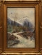 Thumbnail of Artwork by Frederic Marlett Bell-Smith,  Mt. Sir Donald and the Illecillewaet River (near Glacier B.C.)