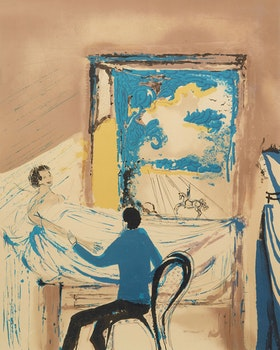 Artwork by Salvador Dali, The Doctor