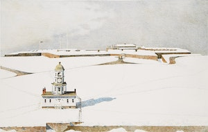 Artwork by Thomas de Vany Forrestall, Halifax Citadel