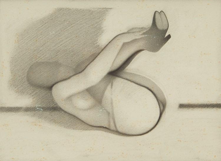 Artwork by Bernard Rene Joseph Mulaire,  Untitled