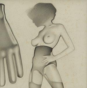 Artwork by Bernard Rene Joseph Mulaire, Untitled Nude