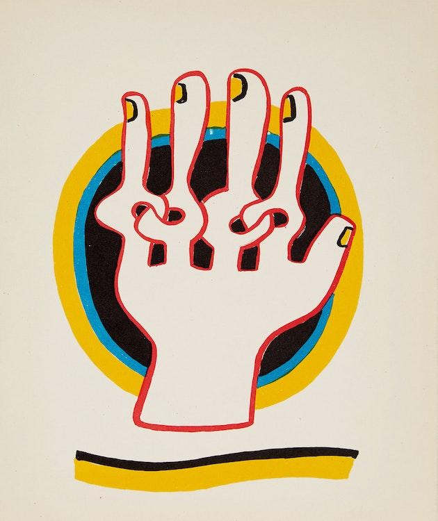 Artwork by Sorel Etrog,  Hanover Gallery 1970 Exhibition Catalogue