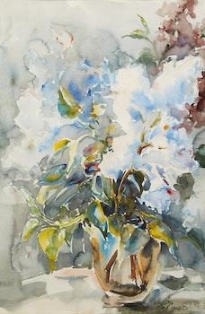 Artwork by Guttorn Otto, Floral Still Life