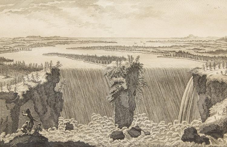 Artwork by   European School,  Cataracte de Niagara