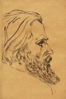 Artwork by Johannes Theodorus Toorop, Pair of Portraits