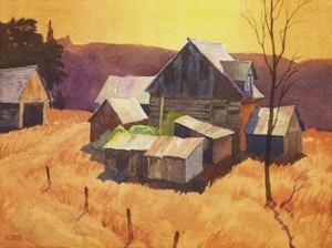 Artwork by Joachim George Gauthier, Ontario Farm