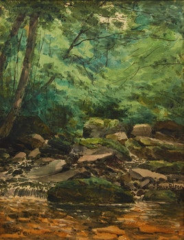 Artwork by Aaron Allan Edson, River