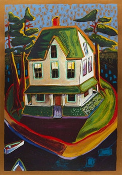 Artwork by Alison Goodwin, Summer House