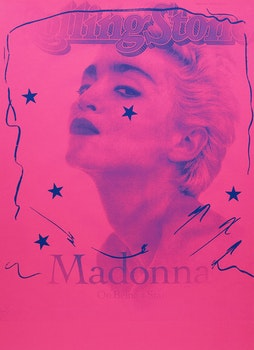 Artwork by Carl Beam, Madonna