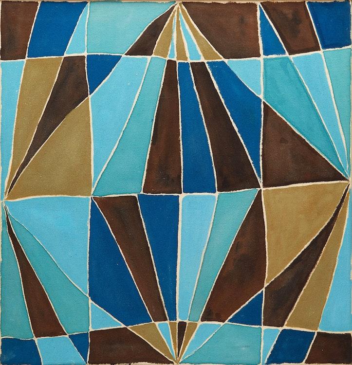 Artwork by Marian Mildred Dale Scott,  Untitled Geometric