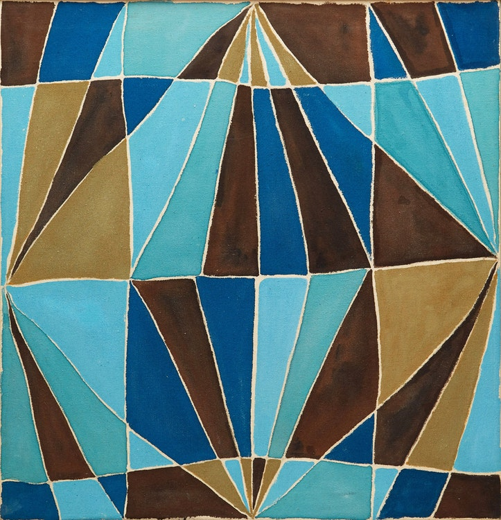 Artwork by Marian Mildred Dale Scott,  Untitled Geometric