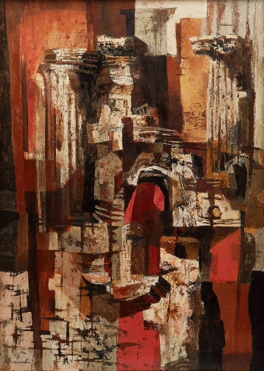 Artwork by Ronald York Wilson,  Pieces of Early Rome
