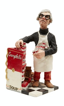 Artwork by Wayne McLean, Andy Warhol's Campbell's Soup