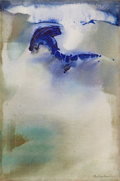 Artwork by Geoffrey Armstrong,  Breaking Blues