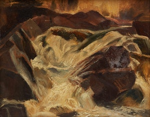 Artwork by Lawrence Arthur Colley Panton, Untitled Landscape