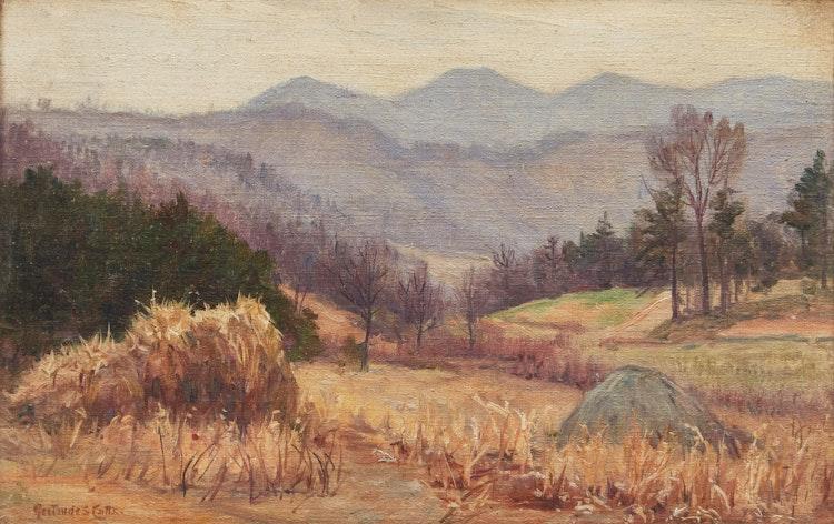 Artwork by Gertrude Cutts,  Landscape