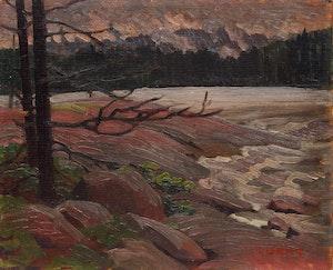 Artwork by Ethel Luella Curry, North Lake, Haliburton