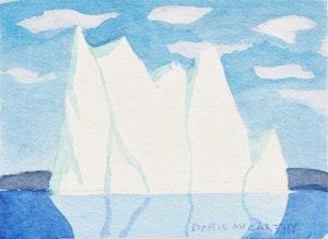 Artwork by Doris Jean McCarthy, Serenity - E The Berg