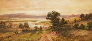 Artwork by Thomas Mower Martin, Basins of Minas