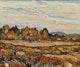 Thumbnail of Artwork by Randolph Stanley Hewton,  Autumn Ploughing Landscape