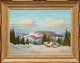 Thumbnail of Artwork by Graham Noble Norwell,  Winter Landscape