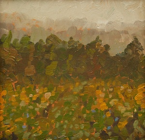 Artwork by Norman R. Brown, Overcast Morning