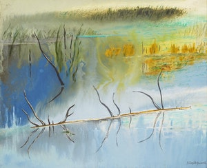 Artwork by Bobs Cogill Haworth, Solitude