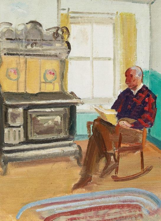 Artwork by George Douglas Pepper,  Portrait of A.Y. Jackson