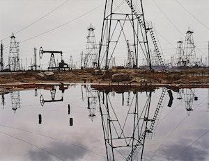 Artwork by Edward Burtynsky, SOCAR Oil Fields #3, Baku, Azerbaijan 2006