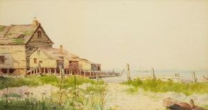 Artwork by Farquhar McGillivray Strachan Knowles, Old Fish House, the Maritimes