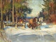 Thumbnail of Artwork by Manly Edward MacDonald,  Loading the Sleigh, Winter