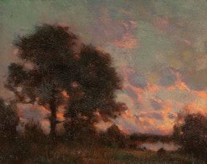 Artwork by Marc-Aurèle de Foy Suzor-Coté, Sunset