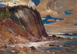 Artwork by Rene Richard, Shoreline Landscape