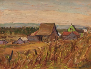 Artwork by Alexander Young Jackson, Sainte-Anne-de-Madawaska, NB