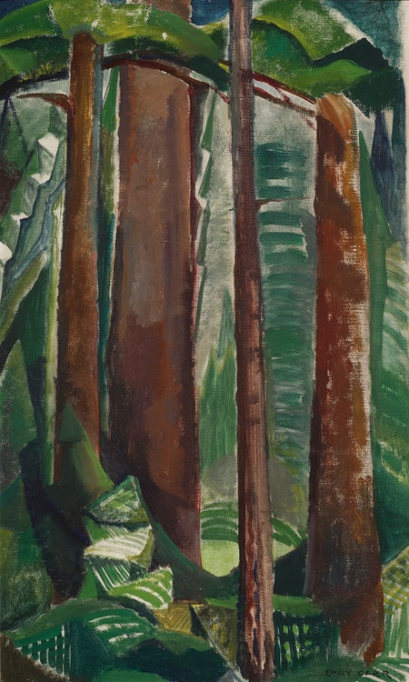 Artwork by Emily Carr,  Forest Interior