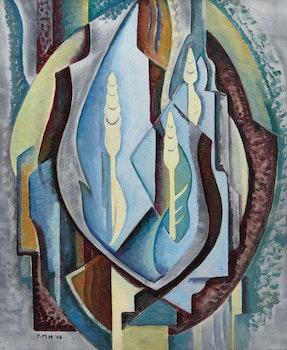 Artwork by Yvonne McKague Housser, Untitled