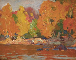 Artwork by John William Beatty, Autumn