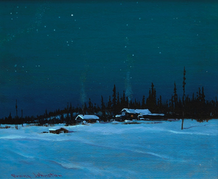 Artwork by Frank Hans Johnston,  The Pole Star