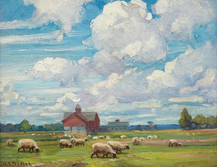 Artwork by Herbert Sidney Palmer,  June Morning