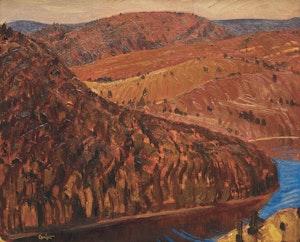 Artwork by Charles Fraser Comfort, Above Eagle Lake