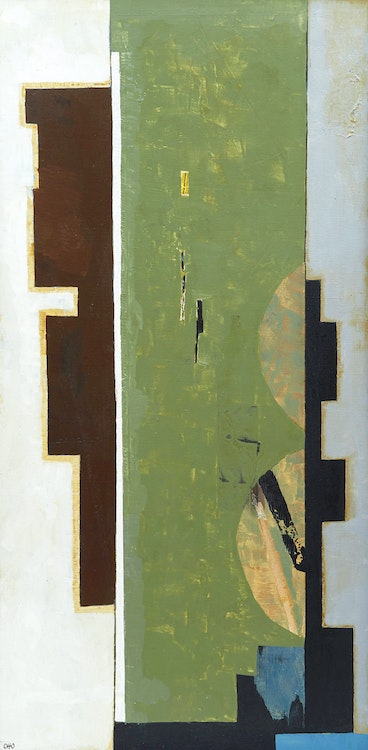 Artwork by Otto Donald Rogers,  Untitled