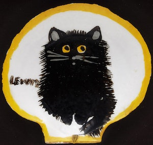 Artwork by Maud Lewis, The Black Cat
