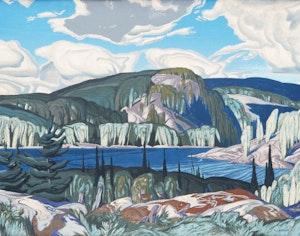 Artwork by Alfred Joseph Casson, Algonquin Provincial Park